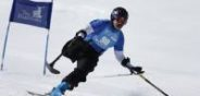 Saturday, April 2, 2016  : From team Jans 1 Monte Meier participates in the National Ability Center Ability Snow Challenge at Park City Mountain. Photo by Jeff Swinger